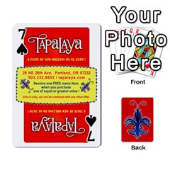 Tap By B B    Playing Cards 54 Designs   Voyytyud1tq3   Www Artscow Com Front - Spade7