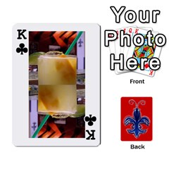 King Tap By B B    Playing Cards 54 Designs   Voyytyud1tq3   Www Artscow Com Front - ClubK