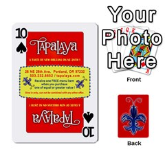 Tap By B B    Playing Cards 54 Designs   Voyytyud1tq3   Www Artscow Com Front - Spade10