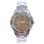 Just Snow Leopard Stainless Steel Analogue Men's Watch