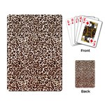 Just Snow Leopard Playing Cards Single Design