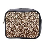 Just Snow Leopard Mini Toiletries Bag (Two Sides)