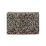 Just Snow Leopard Cosmetic Bag (Medium)