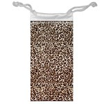 Just Snow Leopard Jewelry Bag