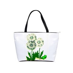 Dandelion2 Shoulder Bag  By Riksu   Classic Shoulder Handbag   Bea9ndaip7eq   Www Artscow Com Front
