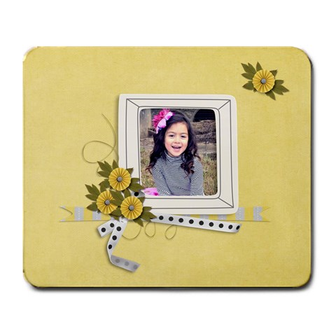 Mousepad  Happiness 3 By Jennyl   Large Mousepad   Oeipvv9p77e3   Www Artscow Com Front