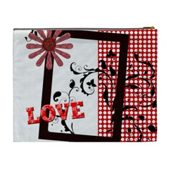 Love By Jo Jo   Cosmetic Bag (xl)   1ynraq6e3qtx   Www Artscow Com Back
