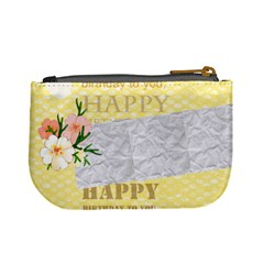 Happy Birthday By Jo Jo   Mini Coin Purse   Myquzijof68q   Www Artscow Com Back