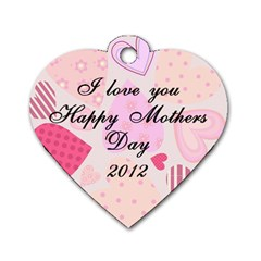 Mothers Day 2012 By Traci   Dog Tag Heart (two Sides)   Bqq9abjkouea   Www Artscow Com Back