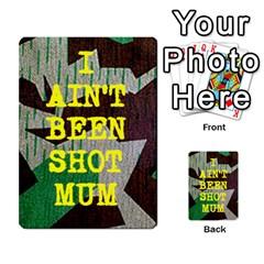 Iabsm3 Blanks By Agentbalzac   Multi Purpose Cards (rectangle)   I0vj79dlgz9v   Www Artscow Com Front 4