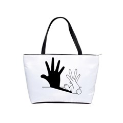 Rabbit Hand Shadow Large Shoulder Bag by rabbithandshadow