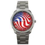 USA Sport Metal Watch