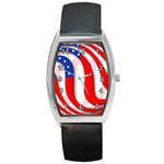 USA Barrel Style Metal Watch