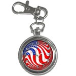 USA Key Chain Watch