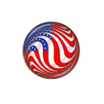 USA Hat Clip Ball Marker (10 pack)