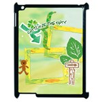nature kids - Apple iPad 2 Case (Black)