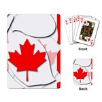 Canada Playing Cards Single Design