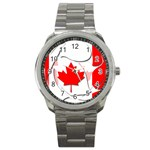 Canada Sport Metal Watch