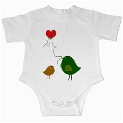 Love Birds Baby Creeper by YinYang