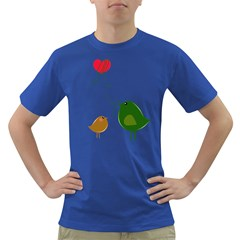 Love Birds Colored Mens'' T Shirt by LoveBirds
