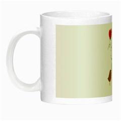 Love Birds Glow in the Dark Mug