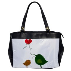 Love Birds Single Sided Oversized Handbag by LoveBirds