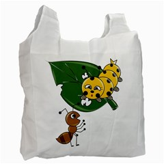 Animal World Twin-sided Reusable Shopping Bag by AnimalWorld