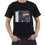 welcome - Men s T-Shirt (Black)