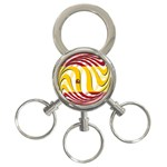 Spain Light 3-Ring Key Chain