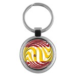 Spain Light Key Chain (Round)