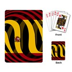 Spain Dark Playing Cards Single Design
