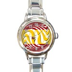 Spain Light Round Italian Charm Watch