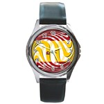 Spain Light Round Metal Watch