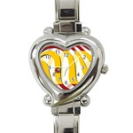 Spain Light Heart Italian Charm Watch