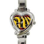 Spain Dark Heart Italian Charm Watch