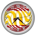 Spain Light Wall Clock (Silver)