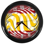 Spain Light Wall Clock (Black)