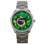 Brazil Sport Metal Watch