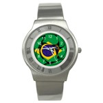 Brazil Stainless Steel Watch
