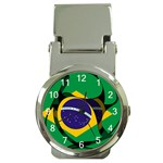 Brazil Money Clip Watch