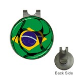 Brazil Golf Ball Marker Hat Clip