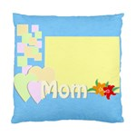 mom - Cushion Case (One Side)