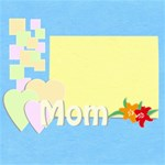 mom - ScrapBook Page 8  x 8