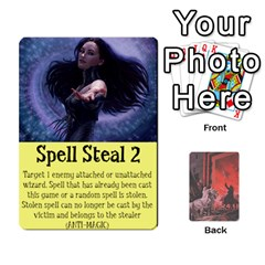 Hostile Realms Spells By Dave   Playing Cards 54 Designs   8al1a08v3quq   Www Artscow Com Front - Diamond2