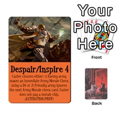 Hostile Realms Spells By Dave   Playing Cards 54 Designs   8al1a08v3quq   Www Artscow Com Front - Spade8