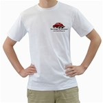 Classic VW BuGs White Men s T-Shirt (White) (Two Sided)