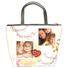 Mom By Wood Johnson   Bucket Bag   Xbvvkloaq6td   Www Artscow Com Back