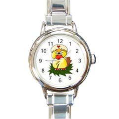 Coming Bird Classic Elegant Ladies Watch (round) by ComingBird