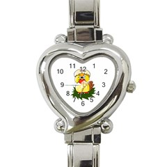 Coming Bird Classic Elegant Ladies Watch (heart) by ComingBird