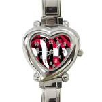 Denmark Heart Italian Charm Watch
